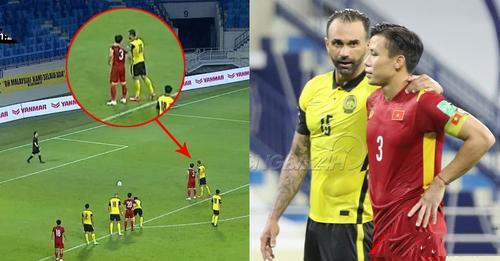 ℭả𝔪 độ𝔫𝔤 cầu thủ nhập tịch Malaysia chỉ Quế Ngọc Hải cách đá pen và cáι кếт